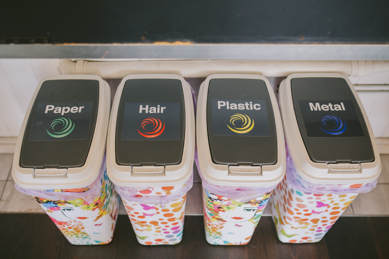 waste free salon